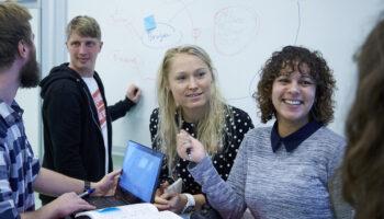 Team gruppearbejde IDA studerende