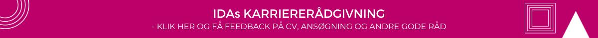 IDAs karriererådgivning