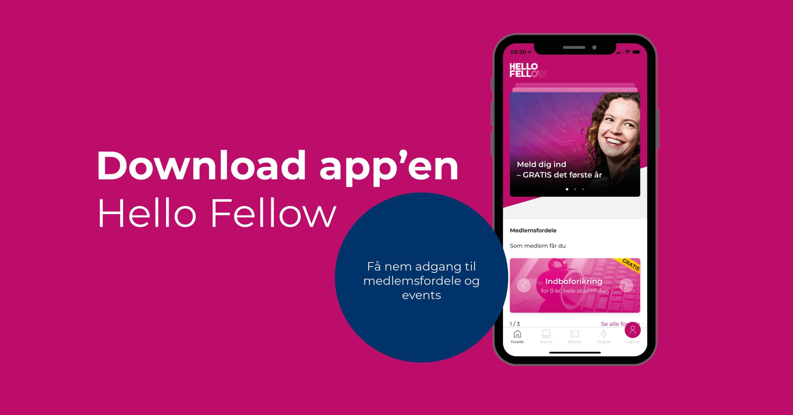Download Hello Fellow App